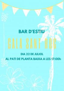 """BAR D'ESTIU """"CALA SANT ROC"""""""